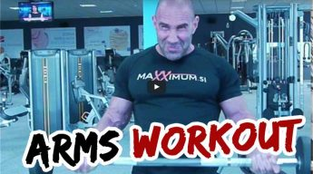 Gasper Grom's Arm Workout