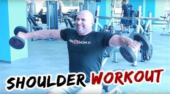 Gašper Grom Shoulder Workout